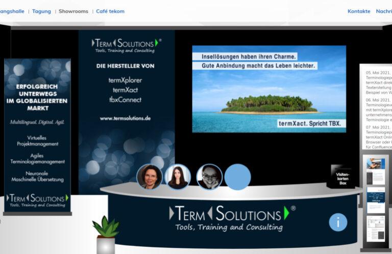 Erfolgreicher Auftritt: TermSolutions virtuell auf der tekom-Frühjahrstagung